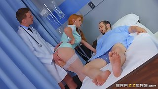 a dude comes to the doctor Penny Pax for a recepe but he got a pussy instead