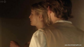 Rosamund Pike nude scenes - Column in Love - HD